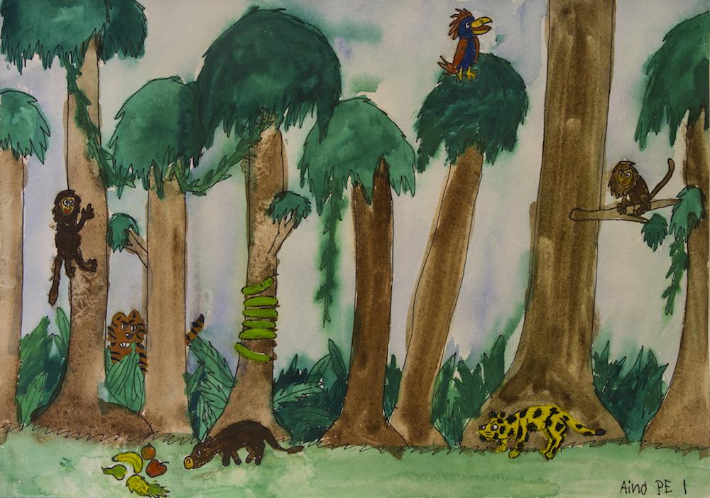 Aino Murtoniemi 9v Juhlat viidakossa jpg