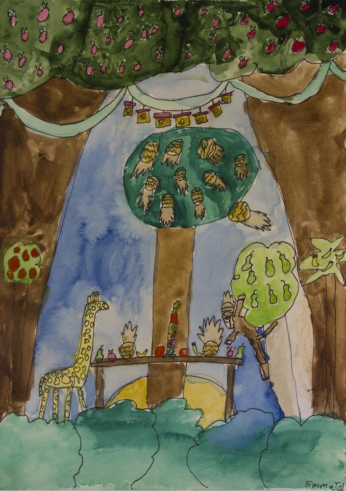 Emma Seppanen 10v Juhlat viidakossa